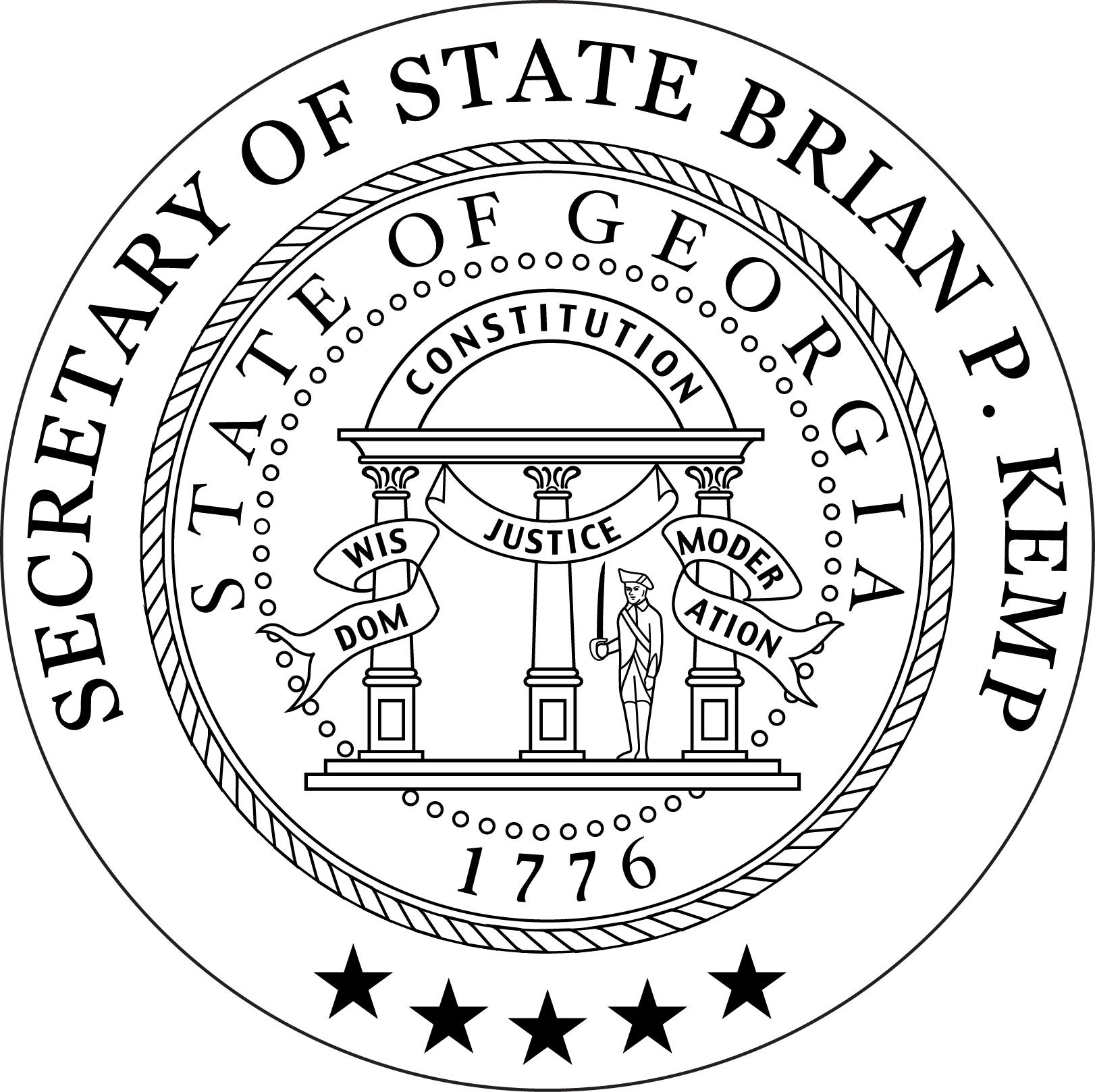 File Georgia Secretary Of State Seal Jpg Wikimedia Commons