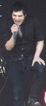 Gerard Way, en un concert a Chicago.