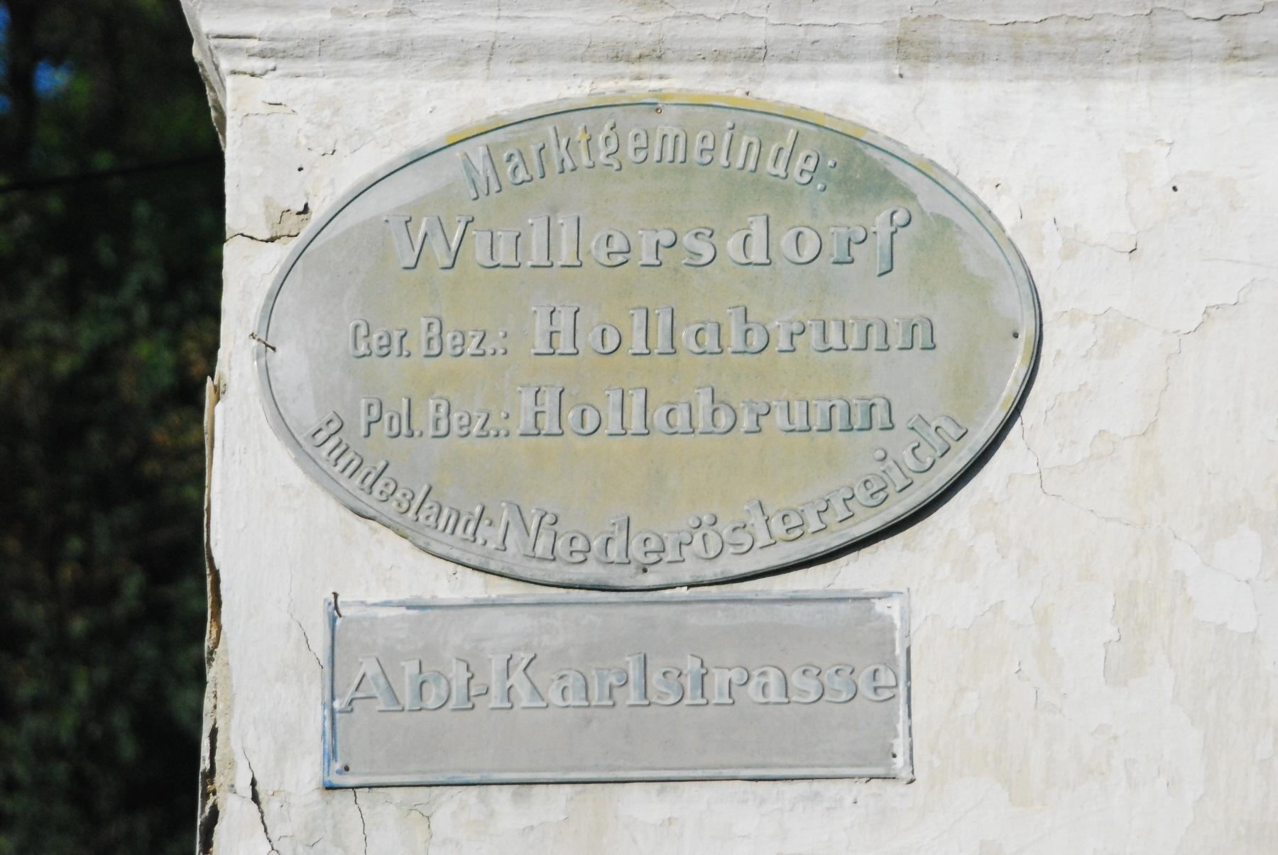 Wullersdorf | Wien/Niedersterreich (Osten): Rk. Erzdizese