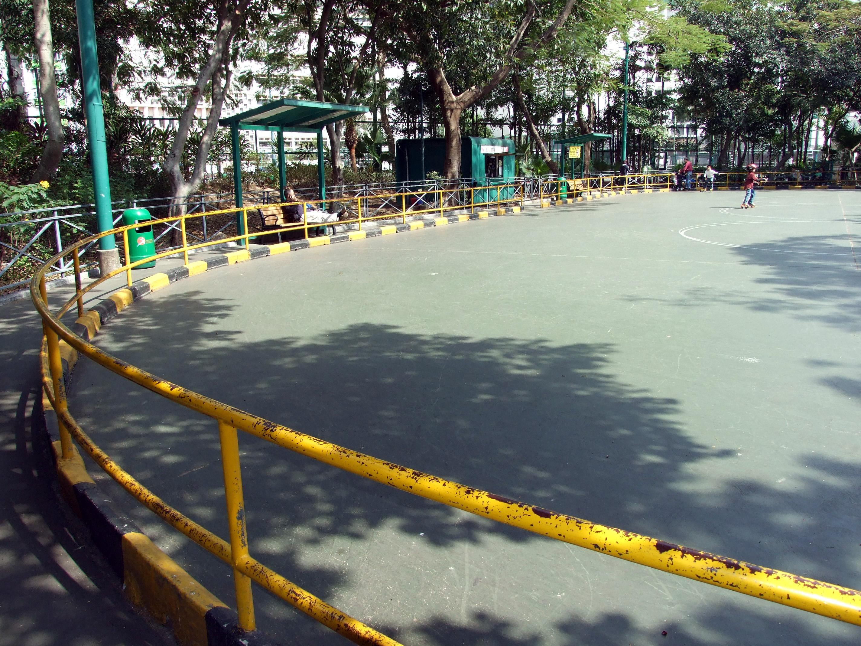 Roller skating venues - File Hk Victoriapark Rollerskatingrink Jpg