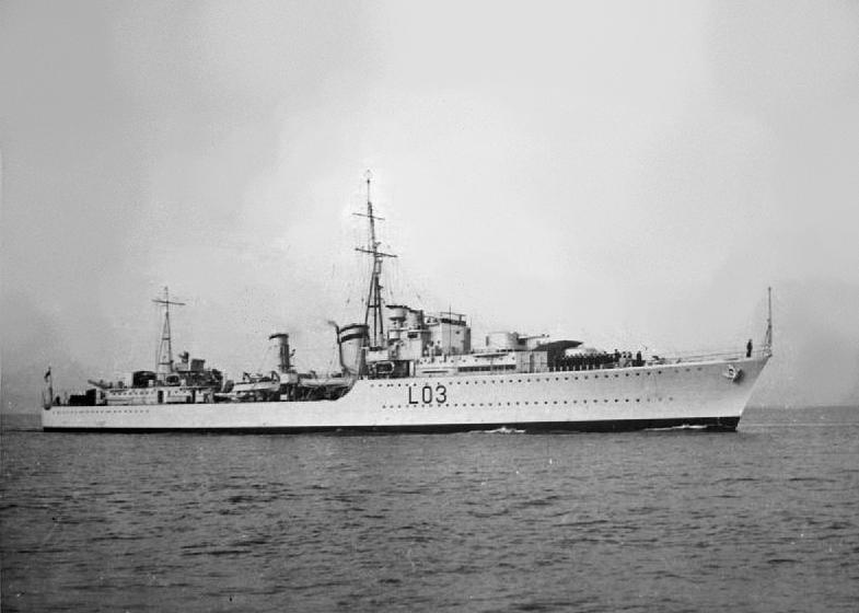 Macke ljubimci i lutalice i ostali ljubimci HMS_Cossack