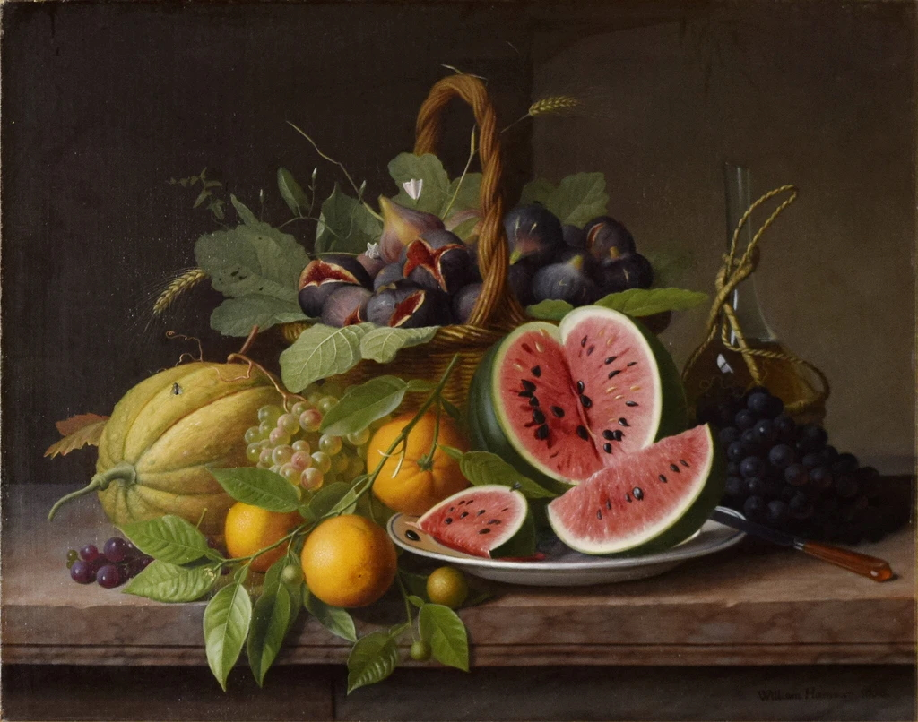 File:Hammer Still Life with Fruit 1858.jpg