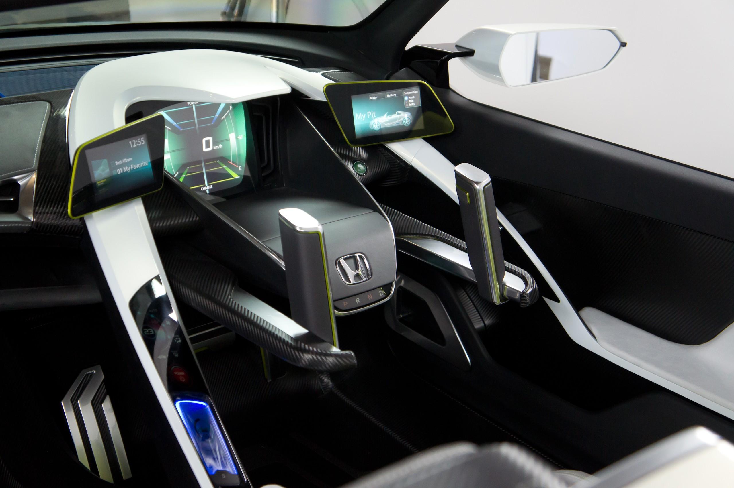 Driving Hand Controls Car