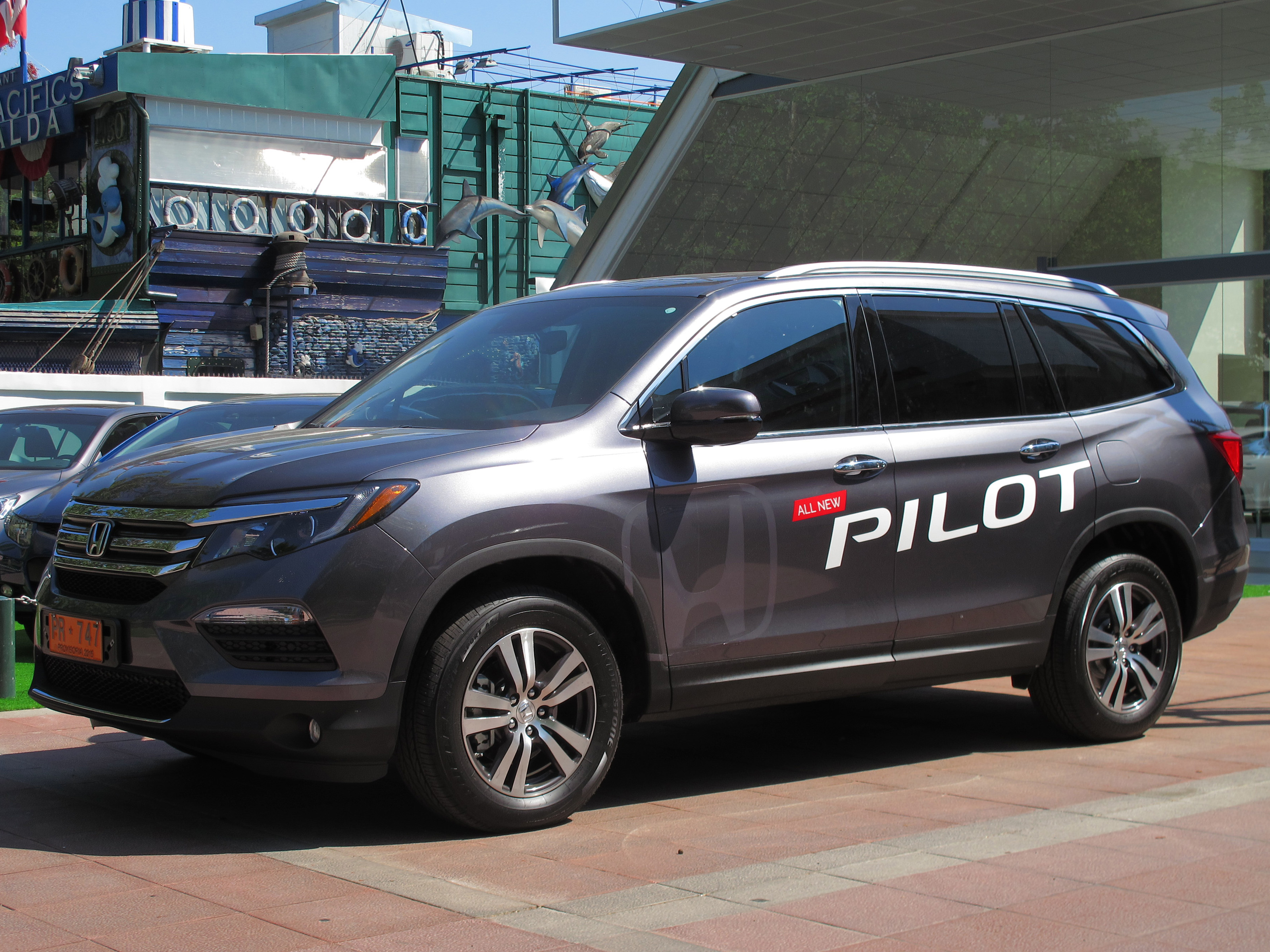 2020 Honda Passport: Design, Specs, Equipment, Price >> Honda Pilot Wikipedia