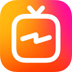 IGTV vertical video application by Instagram
