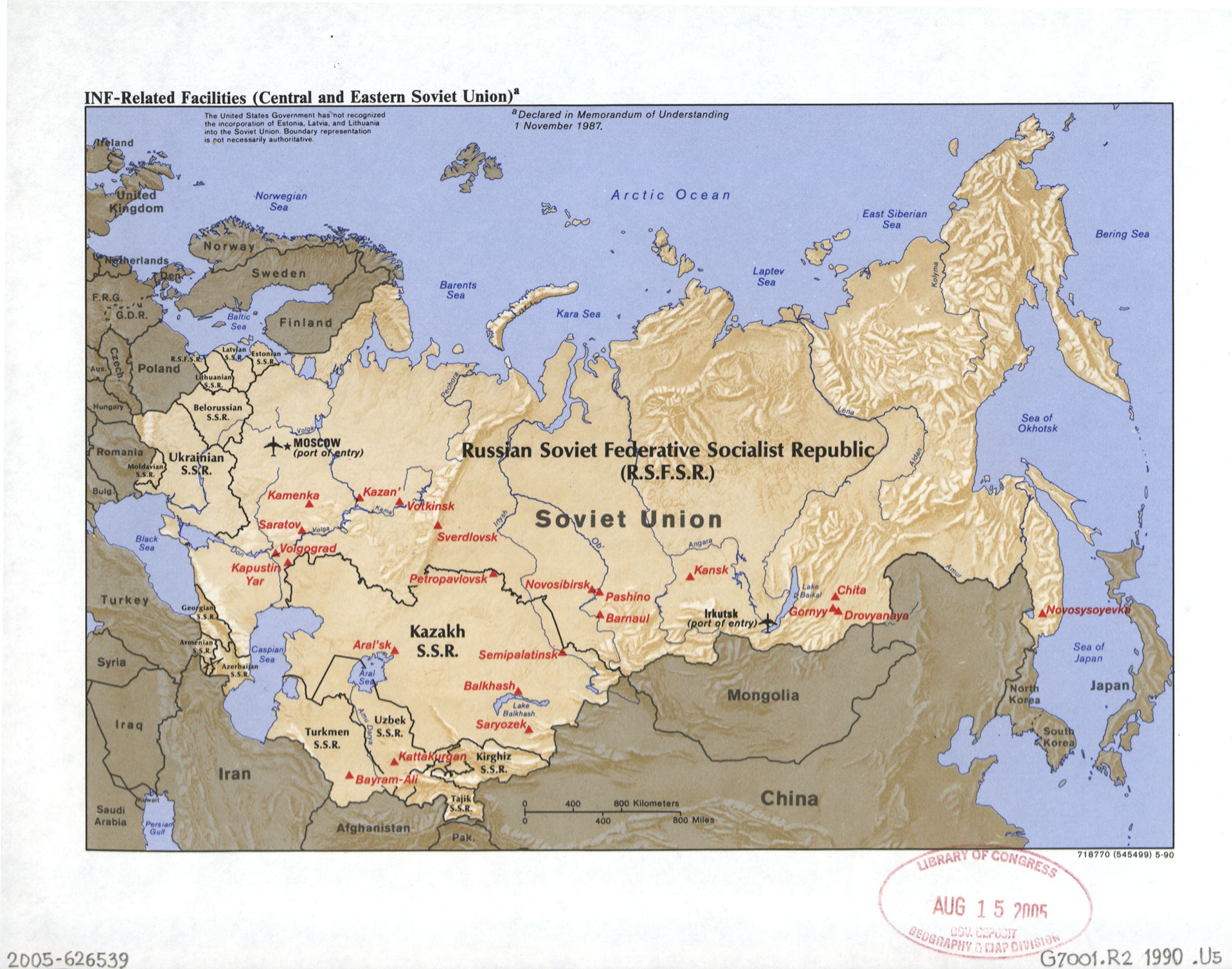 Rocket Launch Sites RUSSIA |Soviet Missle Sites