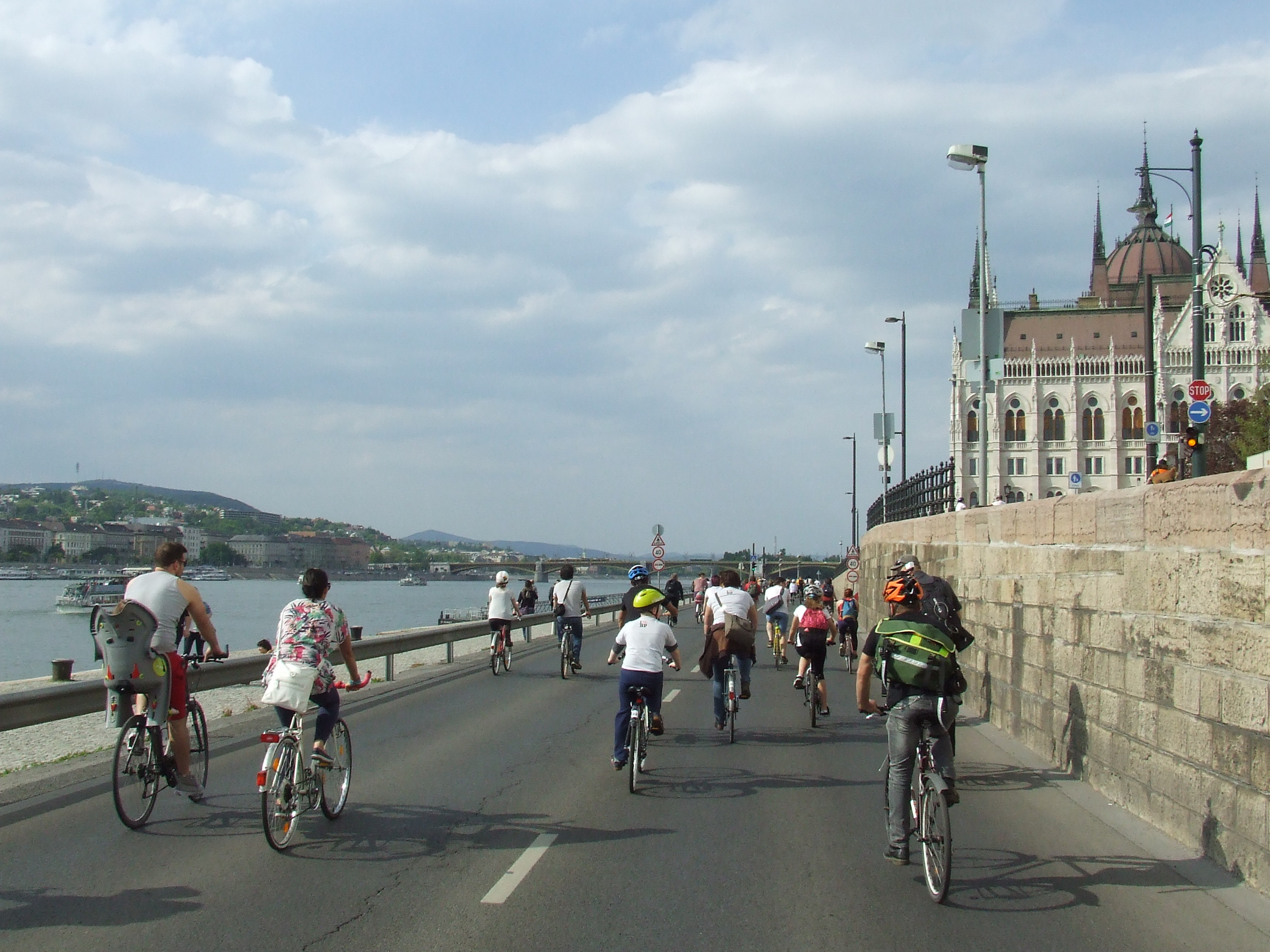 Image result for budapest cycling