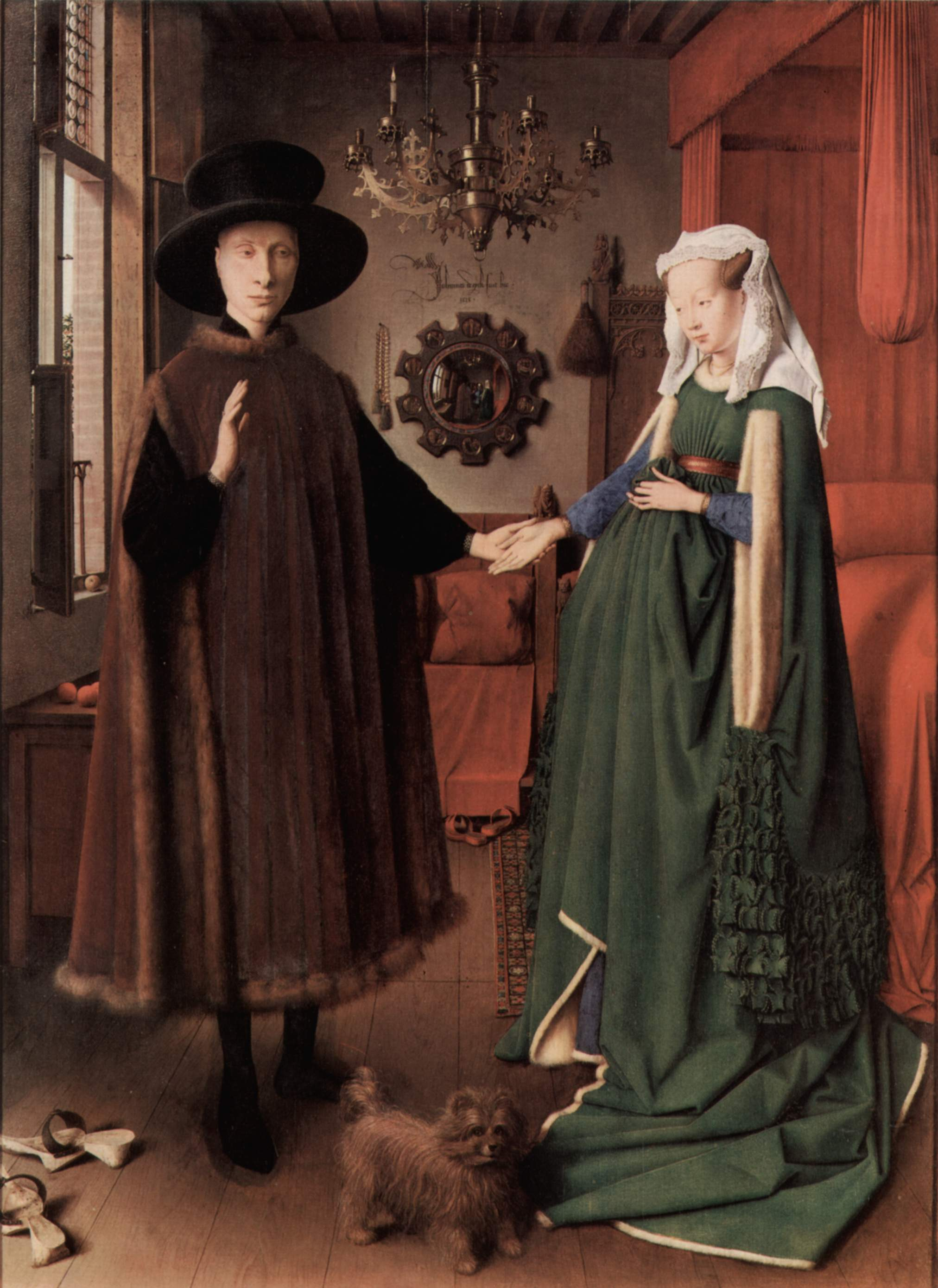 The Arnolfini Portrait, Van Eyck, 1434