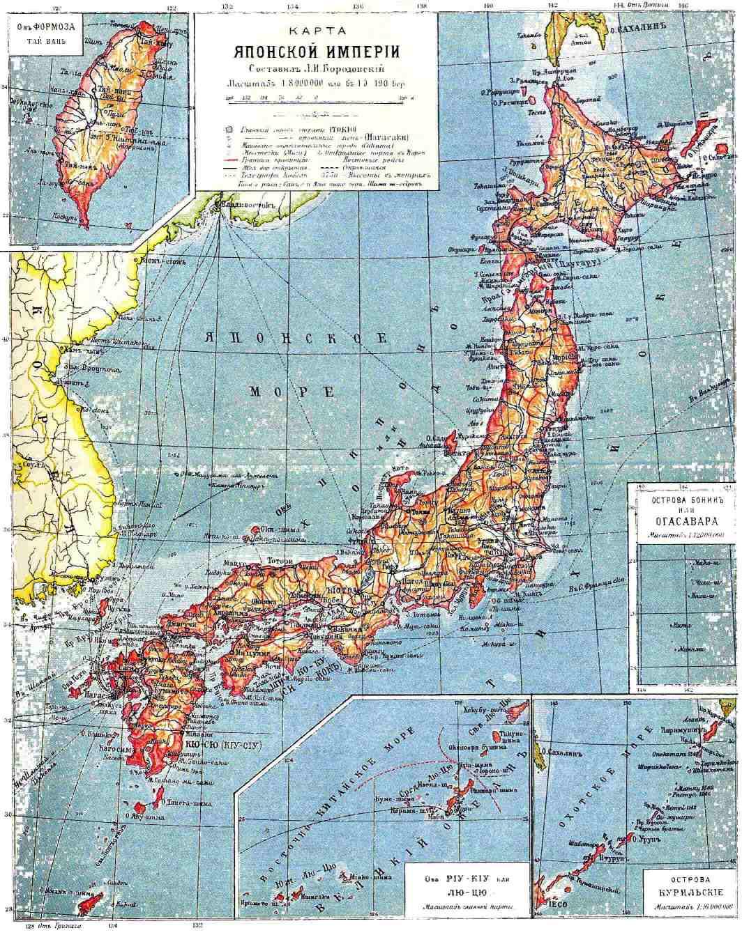 FileJapan Map Brochhausjpg Wikimedia Commons - Map 0f japan