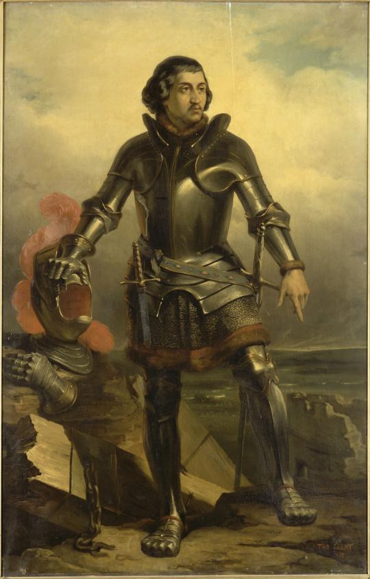 Fichier:Jean Dunois, comte de Longueville, dit le bâtard d'Orléans, Octave  Tassaert, 1835.png — Wikipédia