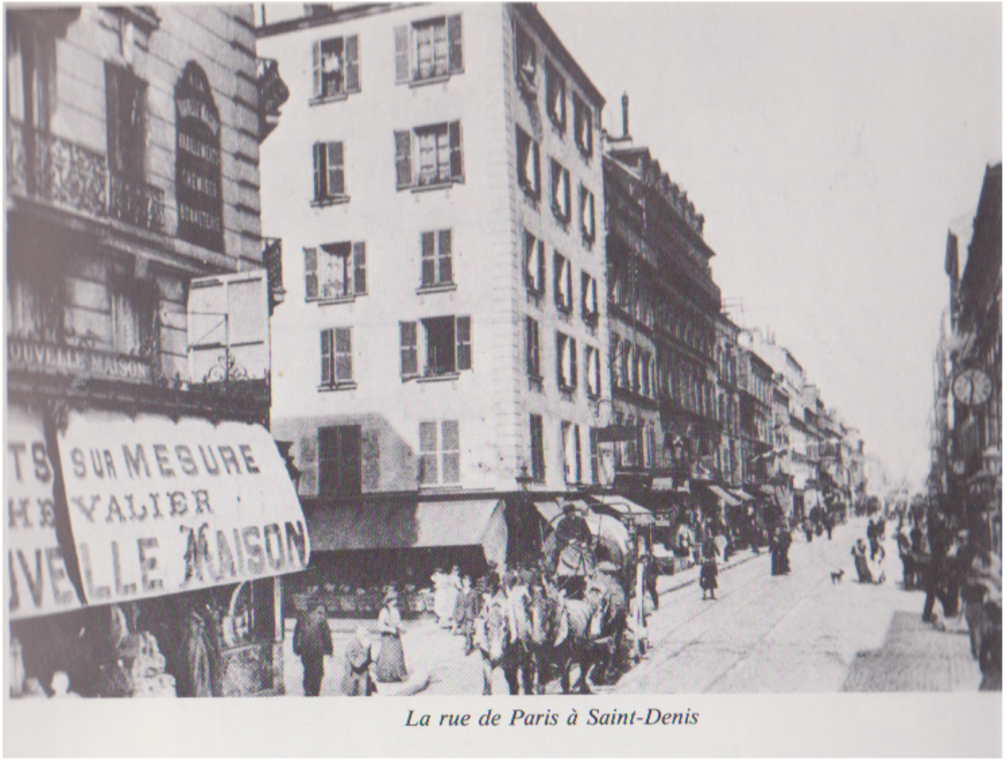 la rue de Paris