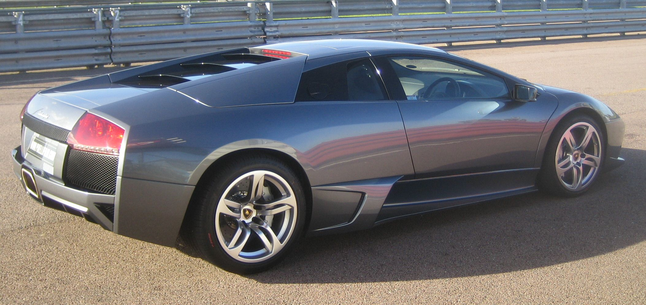 File Lamborghini Murcielago Lp640 2006 Rear 3 Quarter Jpg Wikimedia Commons