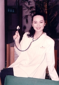 Louise Tsuei with doctor uniform by Li Min.jpg