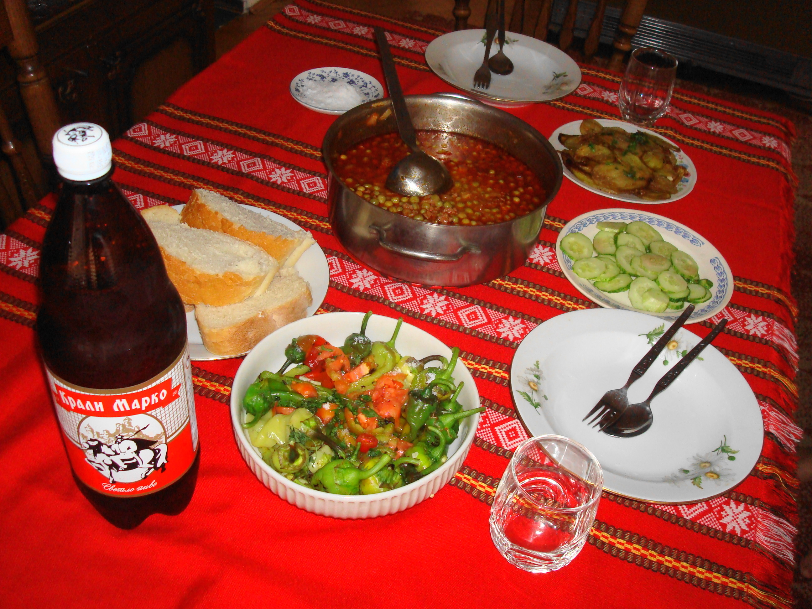 Description macedonian cuisine