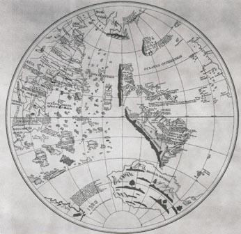 Fichier:Mappemonde de Johannes Schoener.jpg