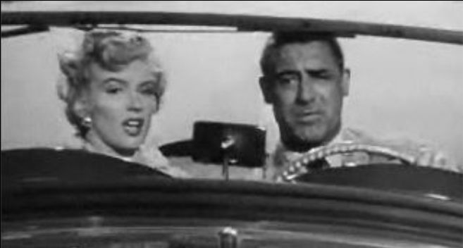 Marilyn Monroe and Cary Grant in Monkey Business trailer 2