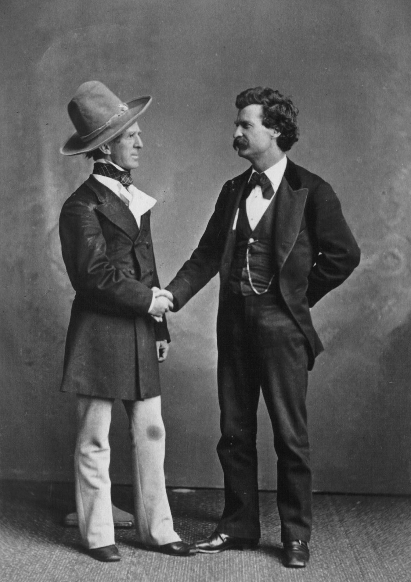 File Mark Twain And John T Sellers Jpg Wikimedia Commons