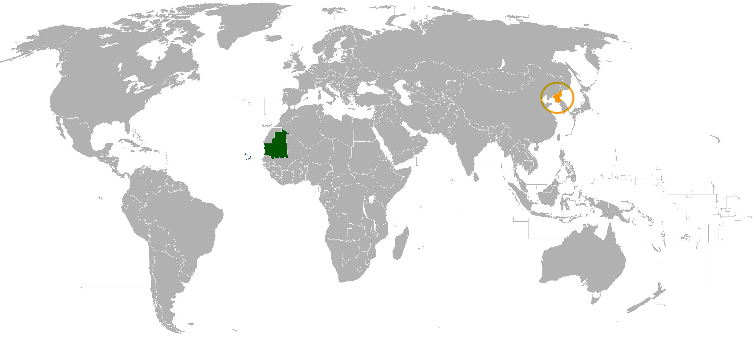 Mauritania–North Korea relations - Wikipedia