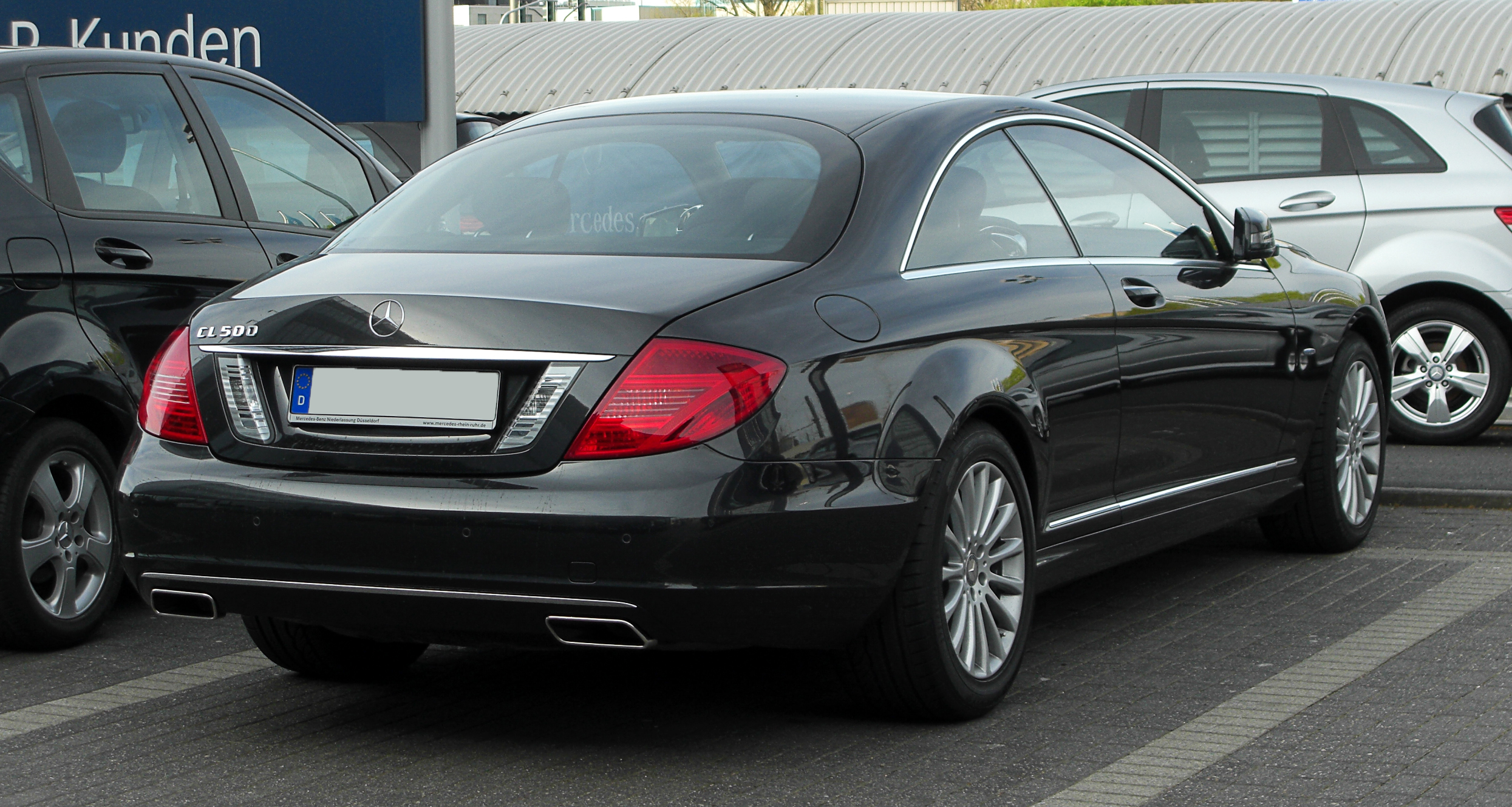 mercedes benz cl 500 blueefficiency c 216 facelift
