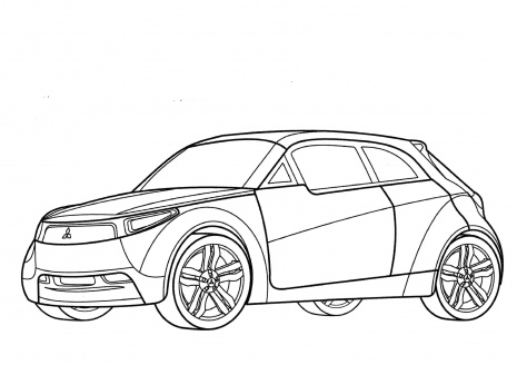 Image Result For Mustang Coloring Page