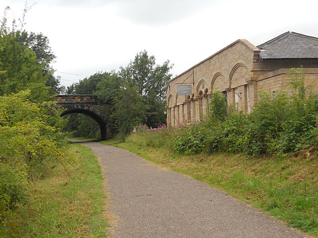 Monsal Trail - Hassop Station now a cafe - geograph.org.uk - 2033564