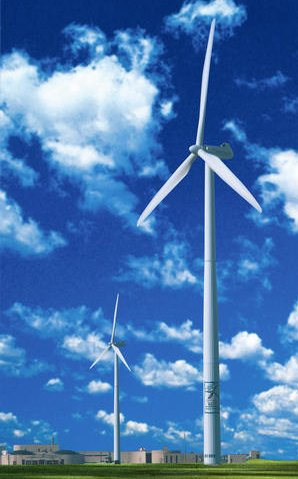 English: Wind Turbines Zephyr and Freedom in M...