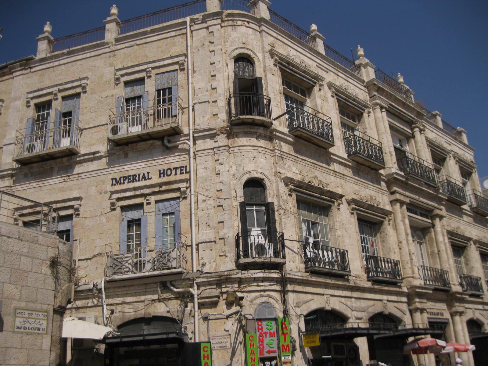 Hotel New Imperial Jerusalem