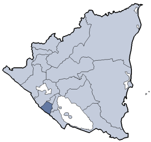 Location of Carazo department