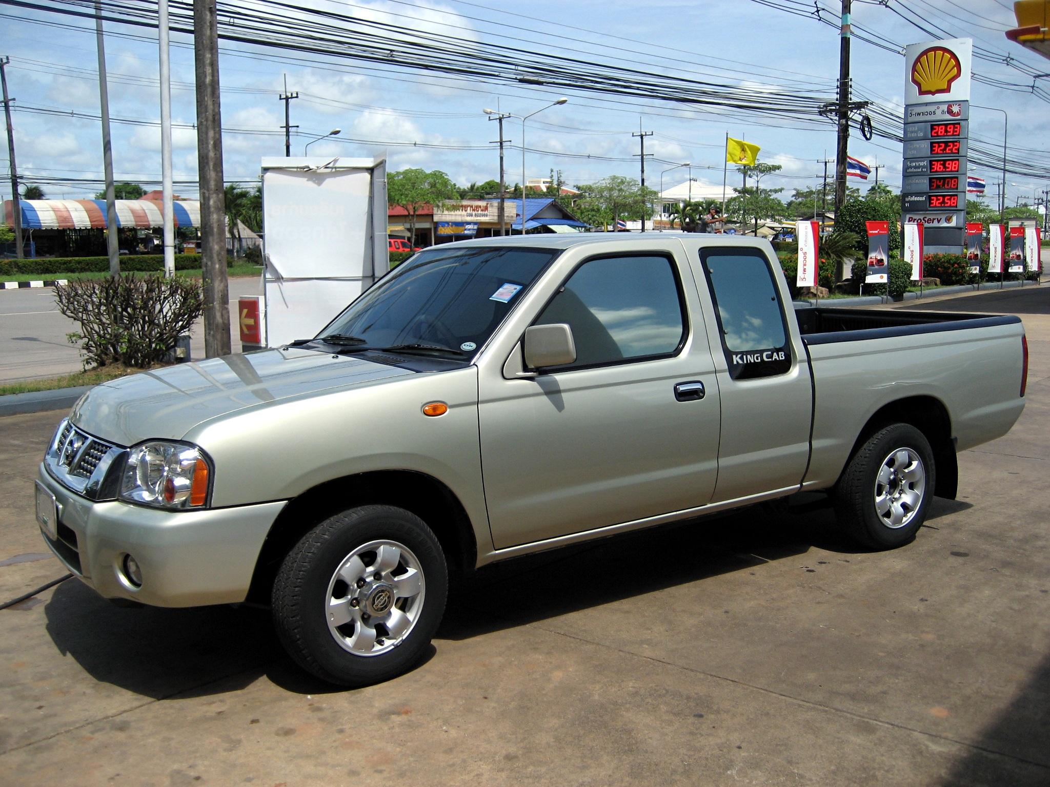 File Nissan Frontier Tl Td27 2003 Jpg Wikimedia Commons