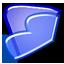 Noia 64 filesystems folder blue.png