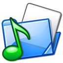 File:Nuvola filesystems folder sound.png