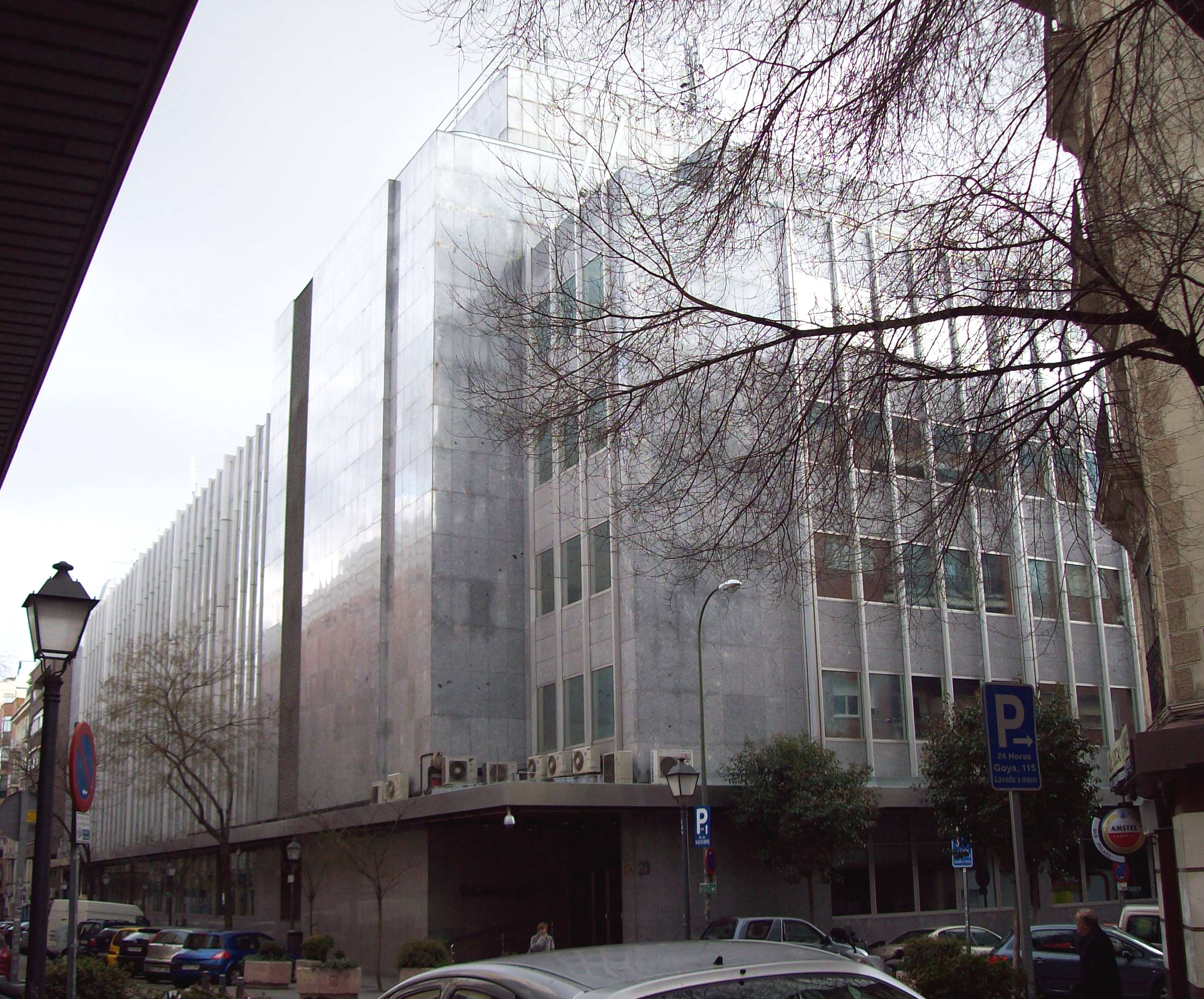 File oficinas centrales de el corte ingl s madrid wikimedia commons - Oficinas bankia madrid ...