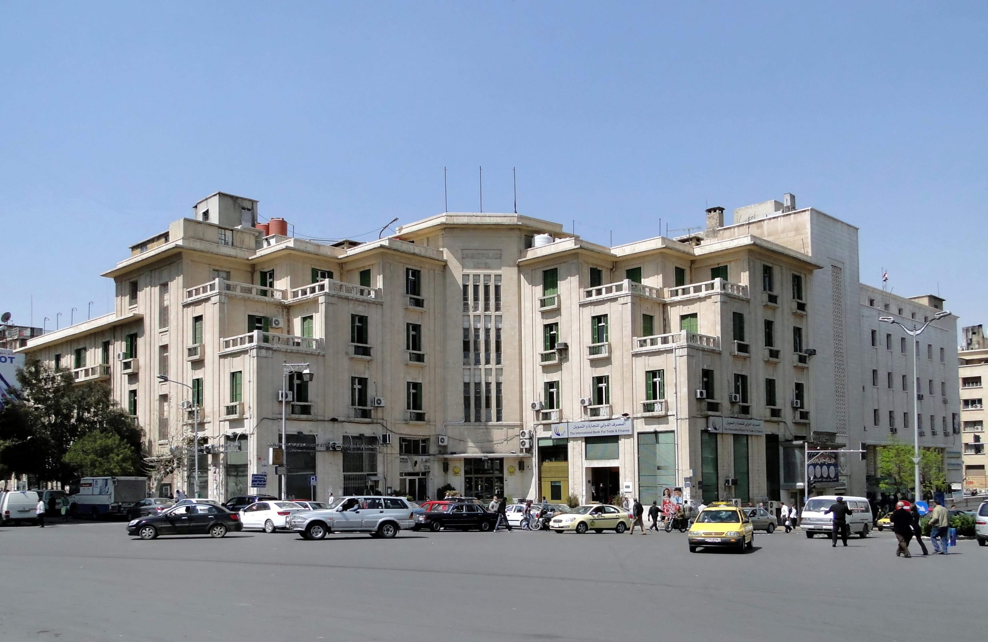 File Orient Palace Hotel Damascus Jpg