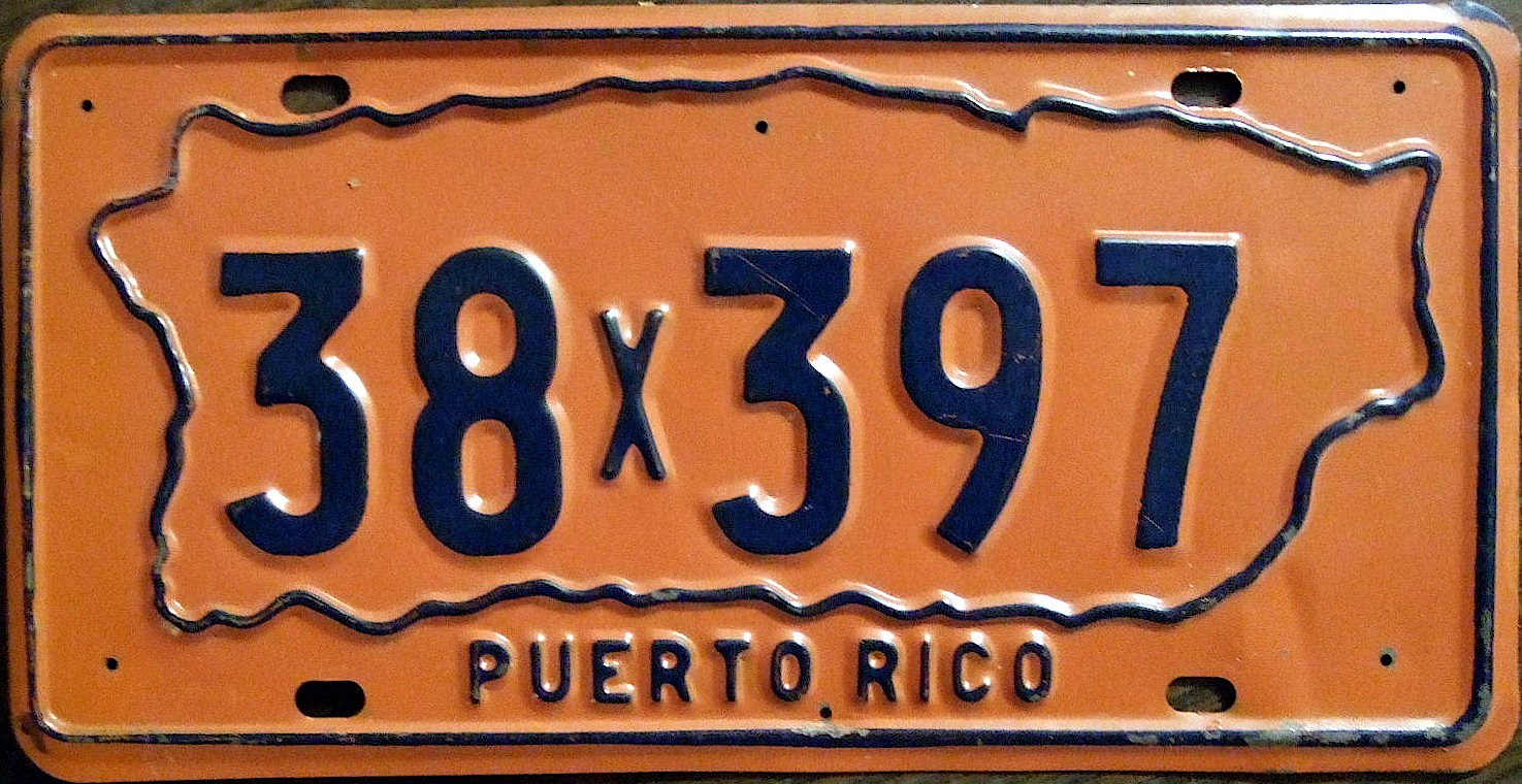 File:PUERTO RICO 1970-1973 license plate - Flickr - woody1778a.jpg ...
