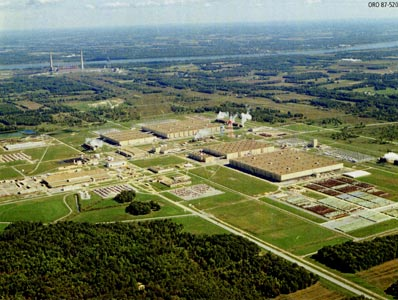 paducah gaseous diffusion plant The portsmouth gaseous diffusion plant is a facility located in scioto  duf6 conversion facilities are located at the paducah gaseous diffusion plant near .