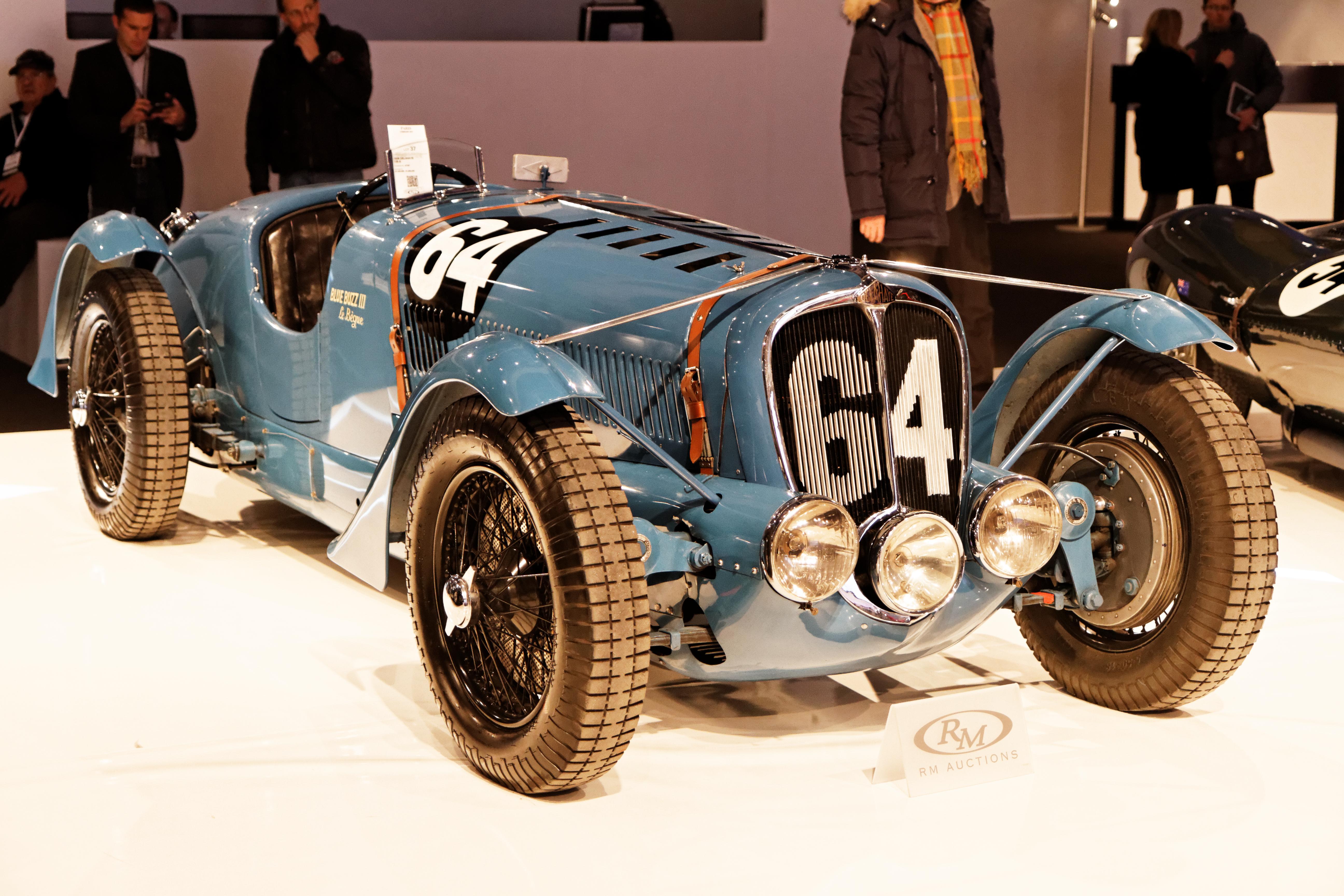 File:Paris - RM Auctions - 5 février 2014 -Delahaye 135 S - 1936 ...