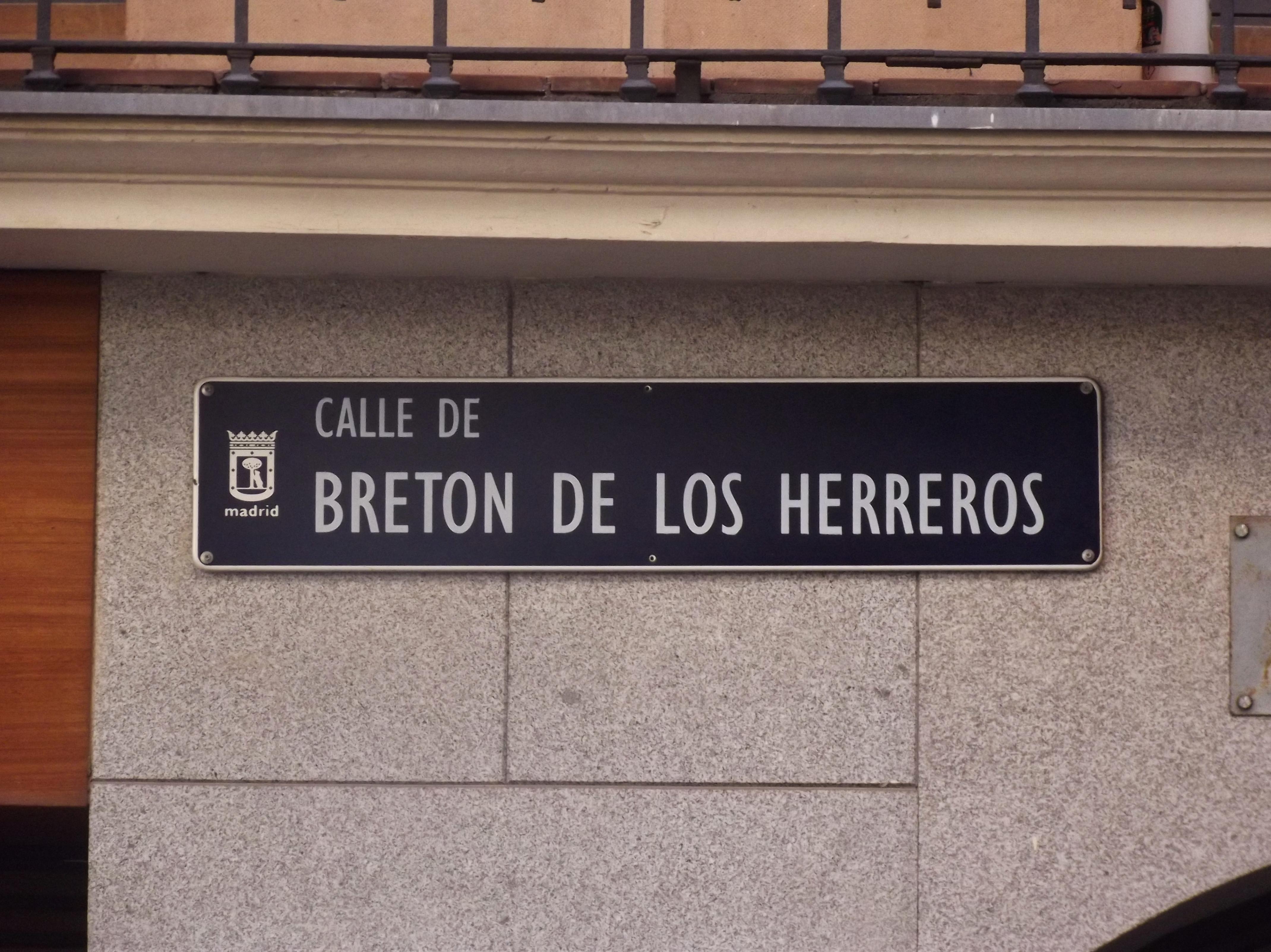 100 Fantastique Idées Breton De Los Herreros Madrid
