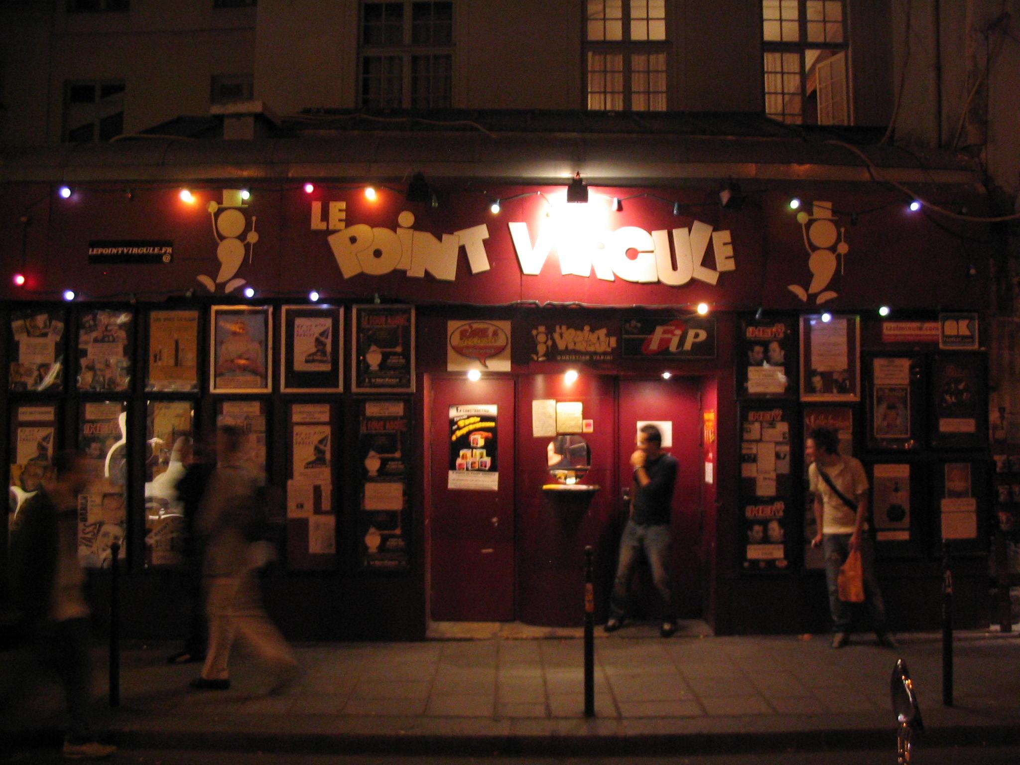 Théâtre du Point-Virgule — Wikipédia