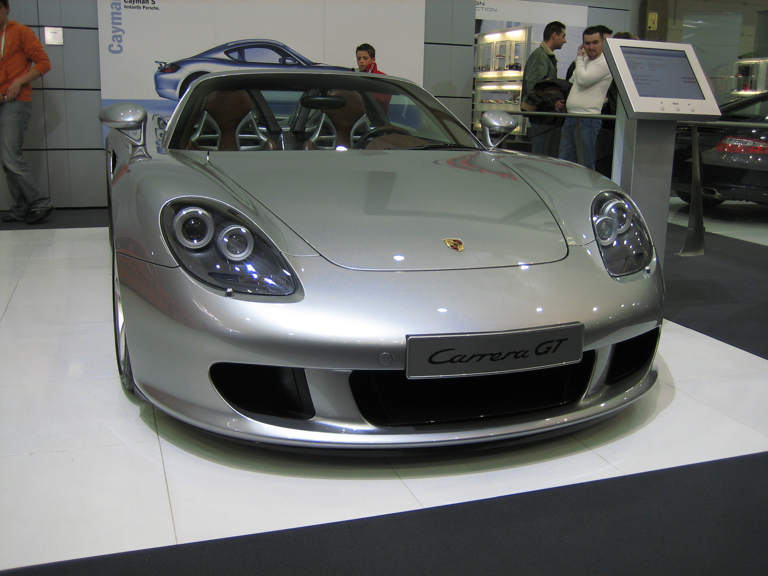 file porsche carrera gt wikipedia. Black Bedroom Furniture Sets. Home Design Ideas