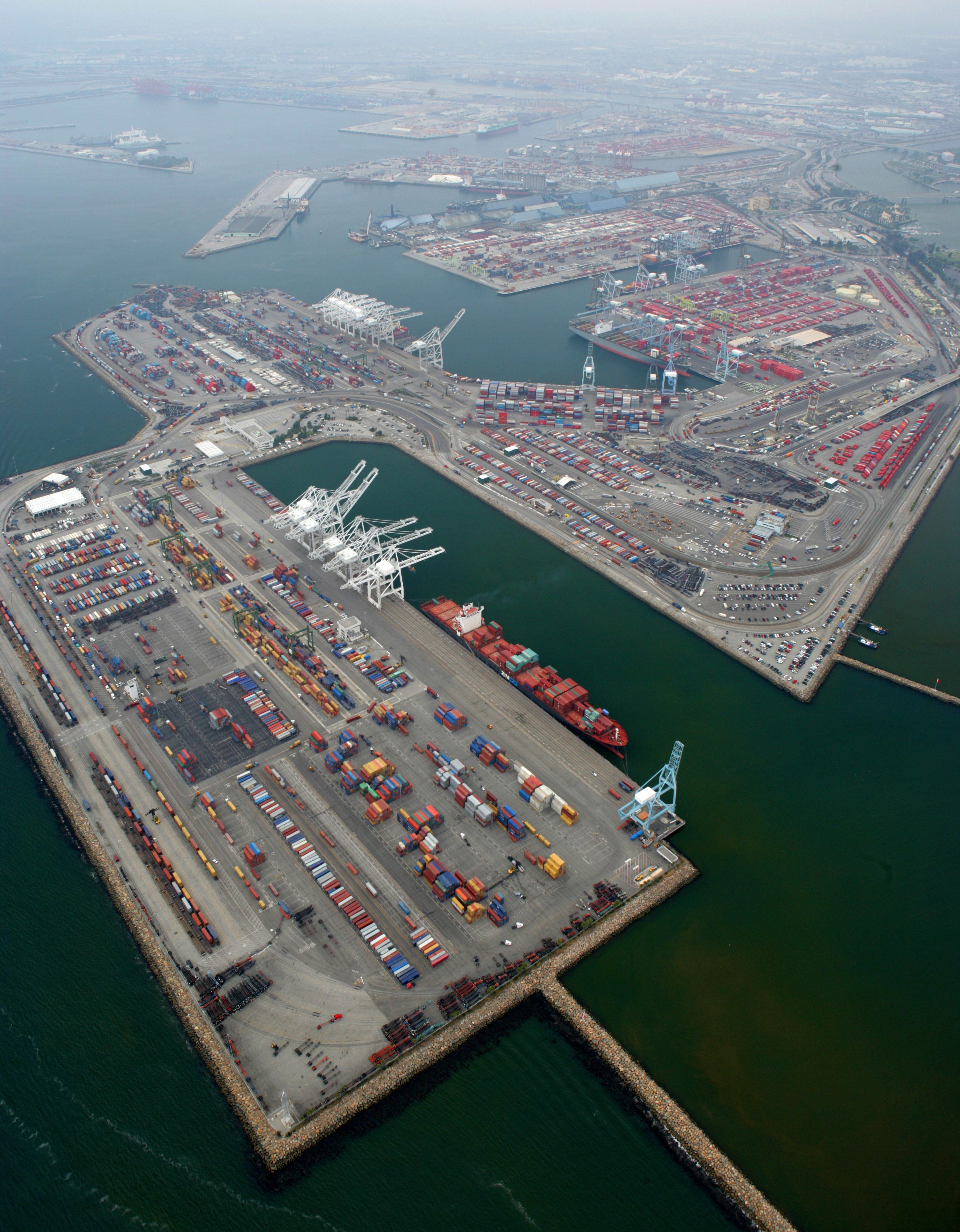 File Port Of Long Beach California Jpg