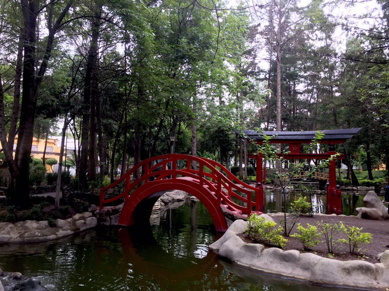 Conocido popularmente como Jardín Japonés.