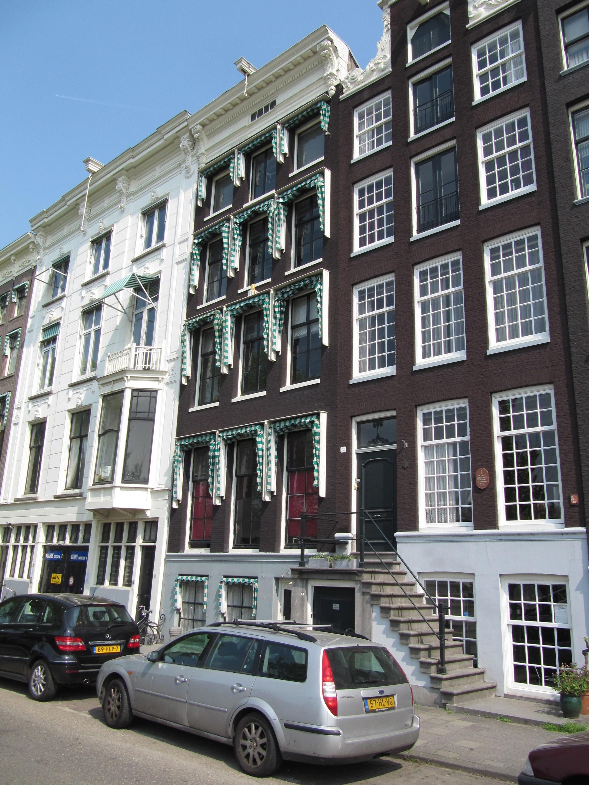 ... met consoles. Tuinhuis in Amsterdam : Monument - Rijksmonumenten.nl
