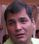 From http://commons.wikimedia.org/wiki/File:Rafael_Correa_IMG_0403.cropped.JPG: Rafael Correa