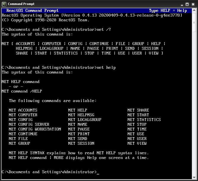 Net Command Wikipedia
