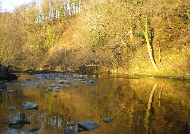 File:Reflections on the River Hindburn - geograph.org.uk - 1110307.jpg