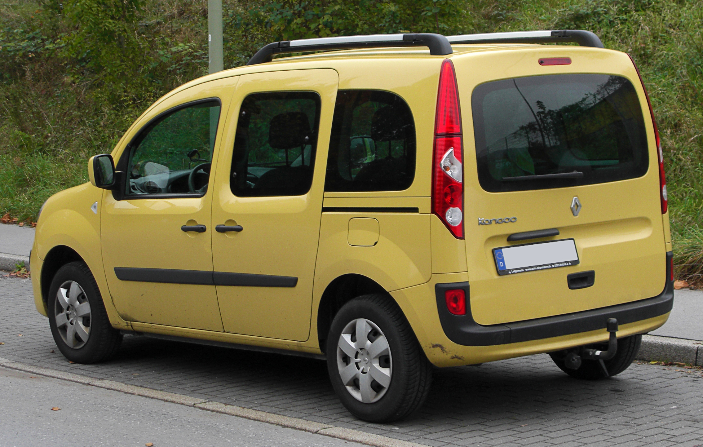 file renault kangoo ii rear 1 wikimedia commons. Black Bedroom Furniture Sets. Home Design Ideas