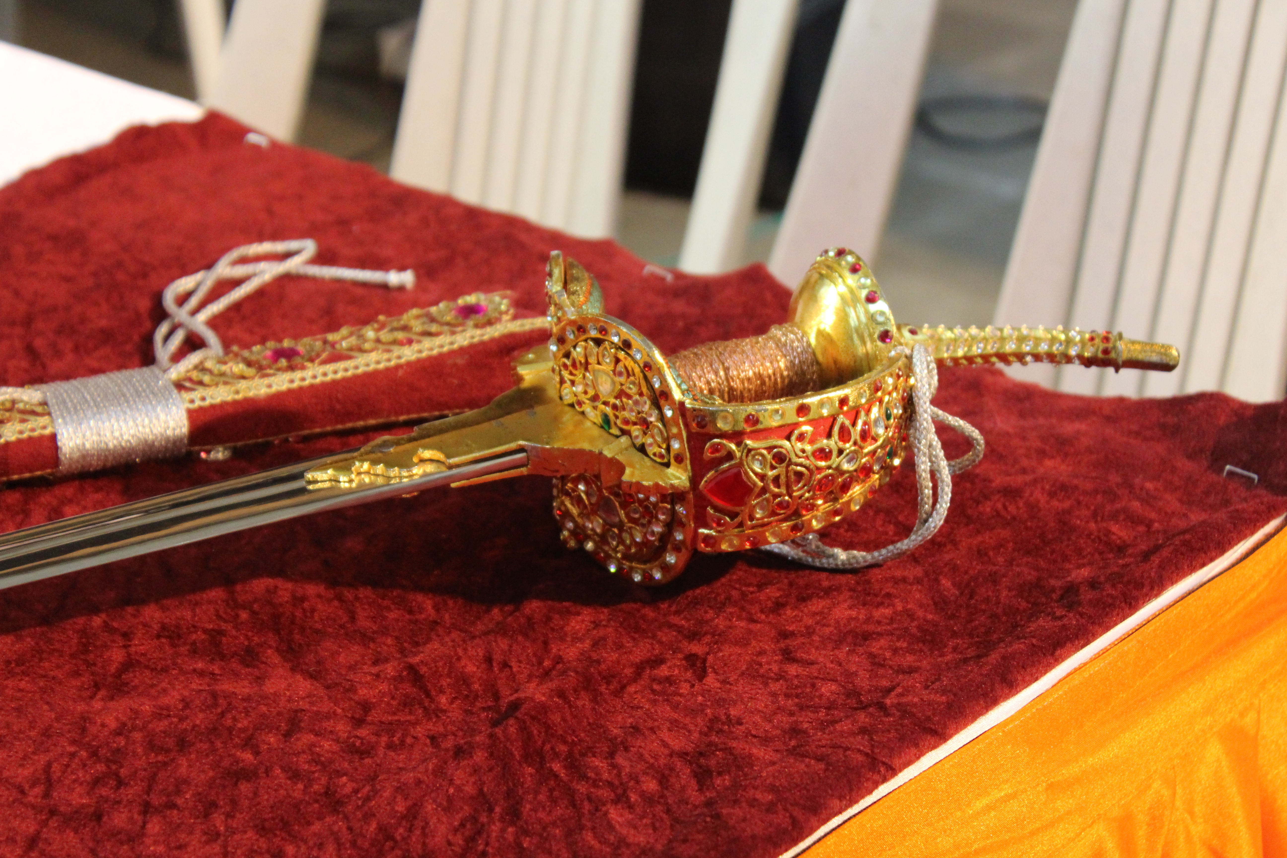 FileReplica of Shivaji's sword 20.jpg   Wikimedia Commons