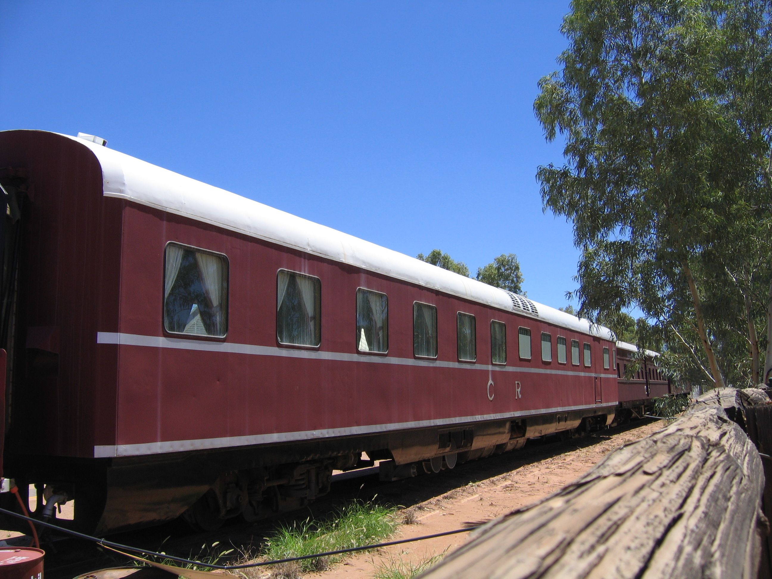 Railroad Car Old
