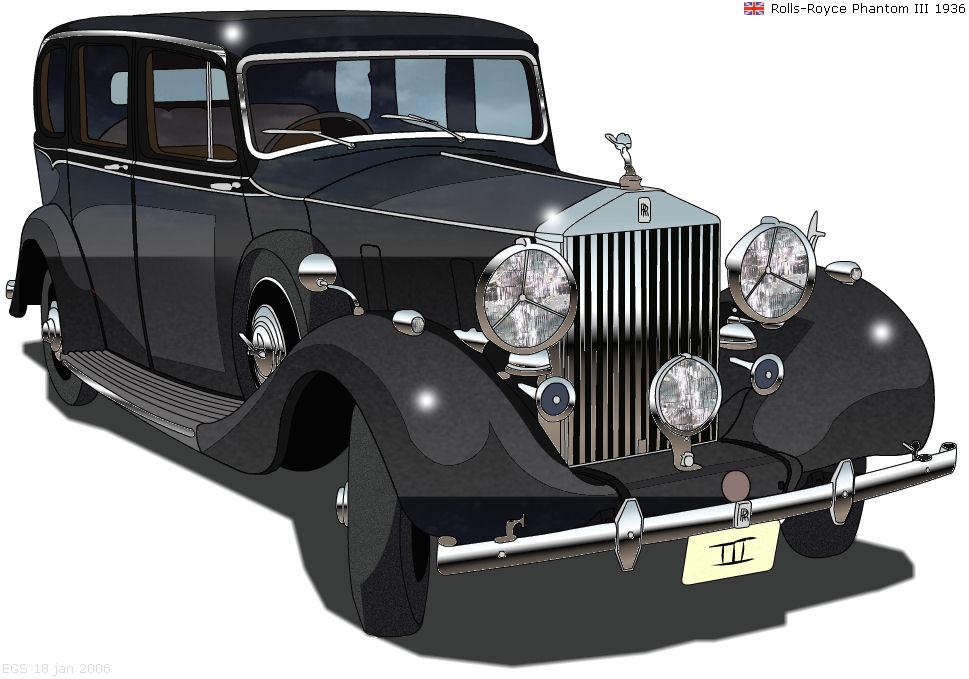 Classic Car Drawing