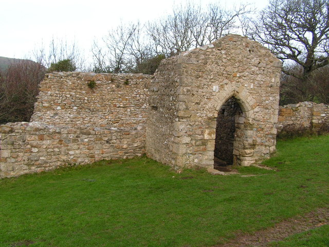 Ruins of St. Gabriel Church - geograph.org.uk - 771401